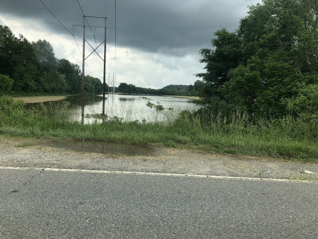 Image of flooded field