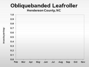 Obliquebanded Leafroller insect trend
