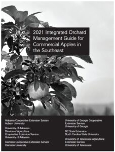 2021 Orchard Management Guide cover